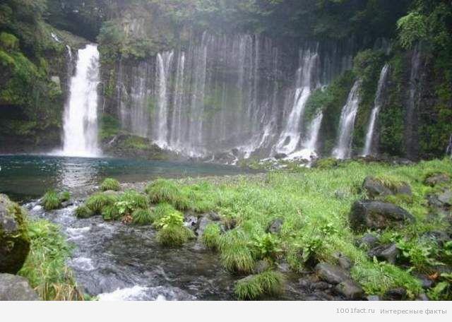 Япония_водопад