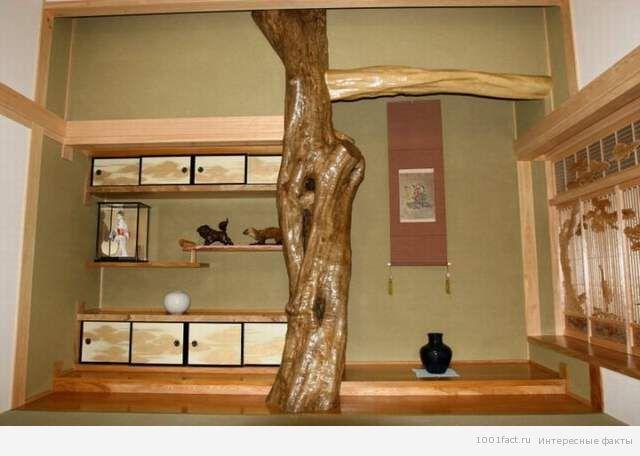 убранство комнаты для чайной церемонии