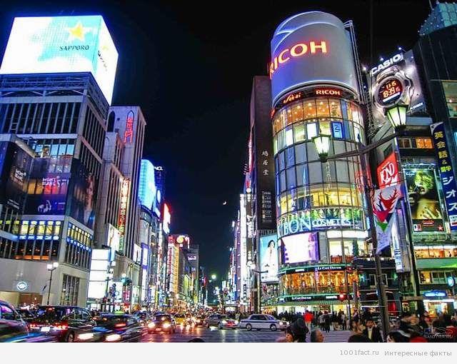 Гиндза_Токио