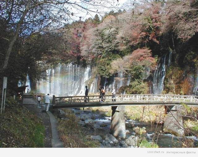 о водопаде Шираито
