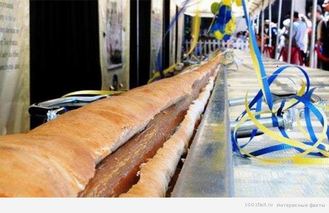 самый длинный хот-дог