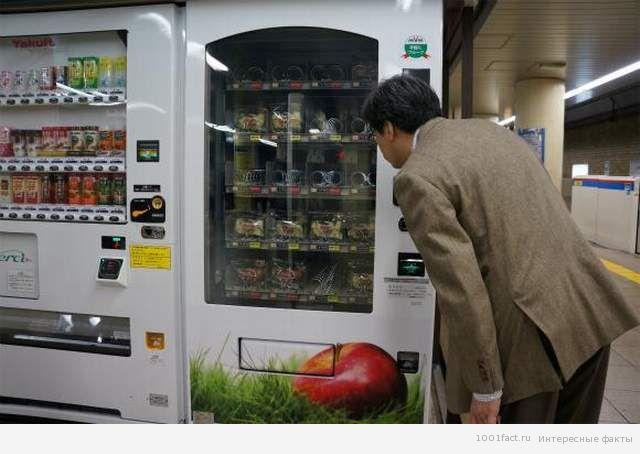 торговые автоматы Токио