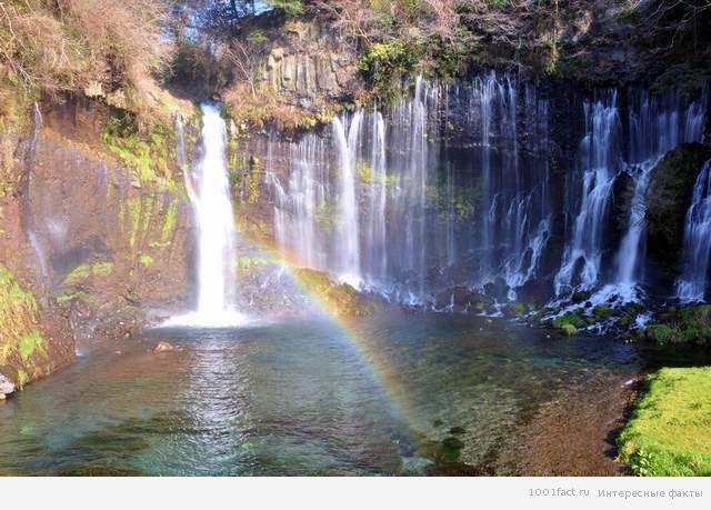 Шираито_водопад