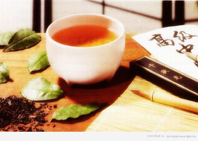 чай_Япония