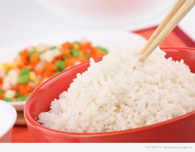 белый японский рис