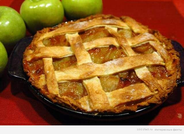 о яблочном  пироге