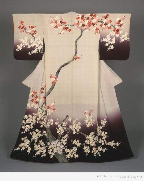 покрой кимоно