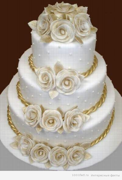 традиции_торт на свадьбе