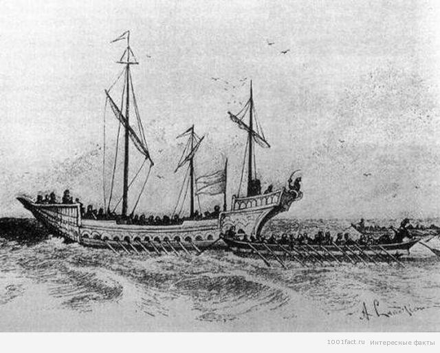 корабль казаков