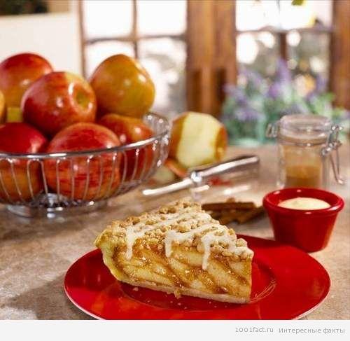 еда_яблочный пирог