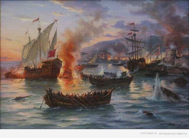 взятие крепости Кафа