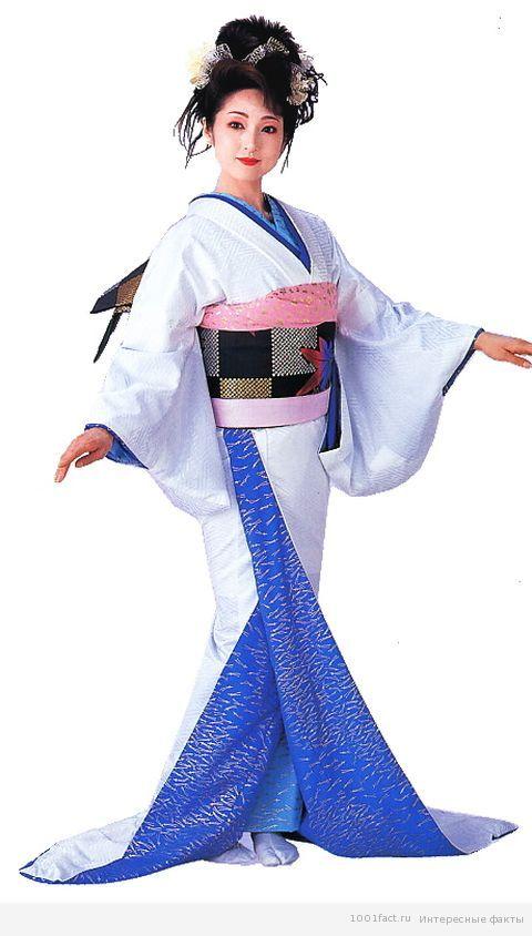 способ одевания кимоно