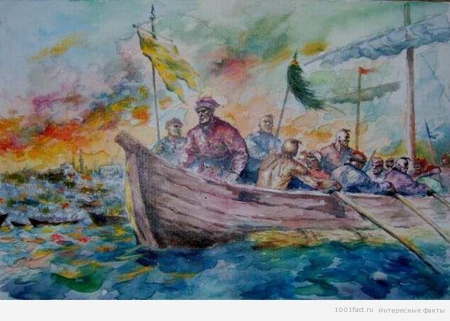 взятие острова Березань