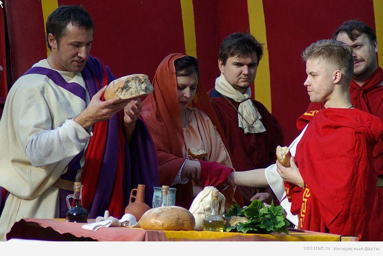 древнеримская свадьба