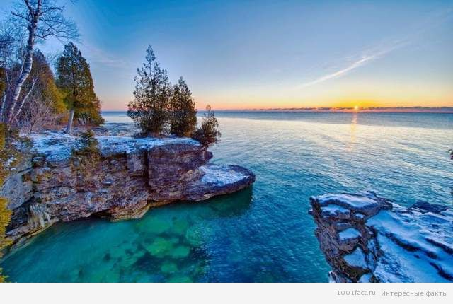 озеро Мичиган