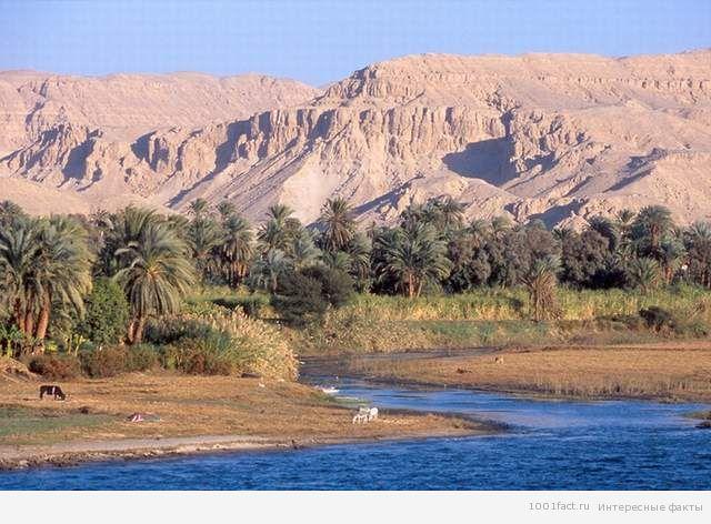 земли_река Нил