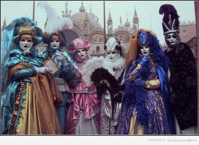 о карнавале в Венеции