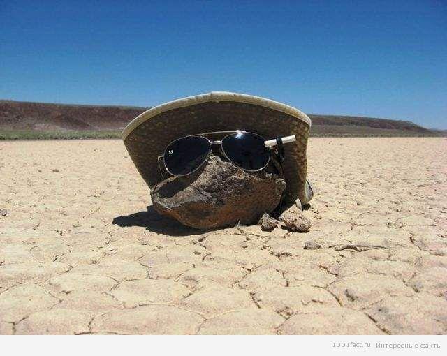 жаркий день в Долине смерти