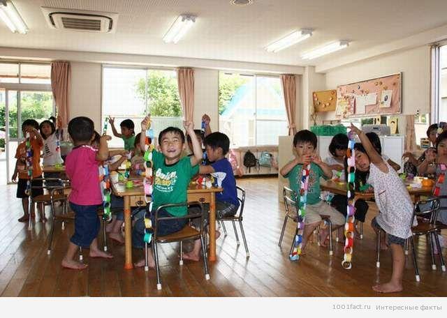 детский сад в Японии