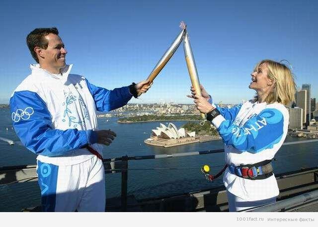 об Олимпийском огне