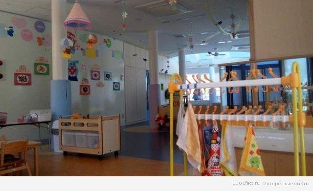 убранство в детском саду