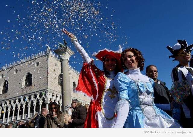 факты_карнавал в Венеции