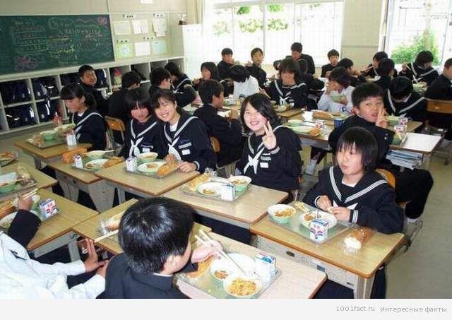 организация обучения в школе в Японии