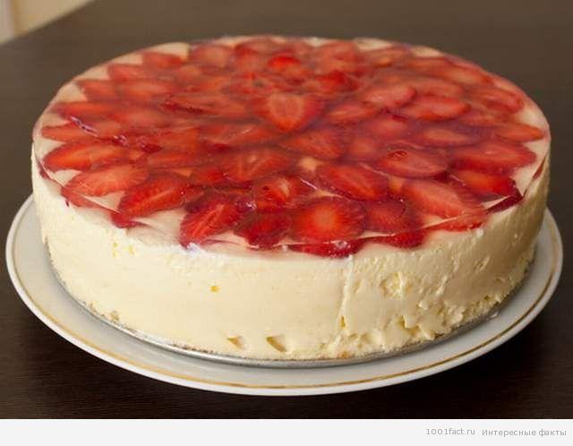 бисквитный торт на основе маскарпоне