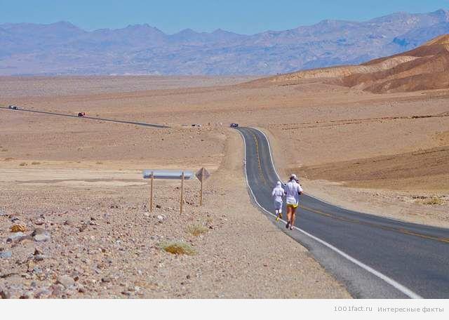 марафон в Долине смерти