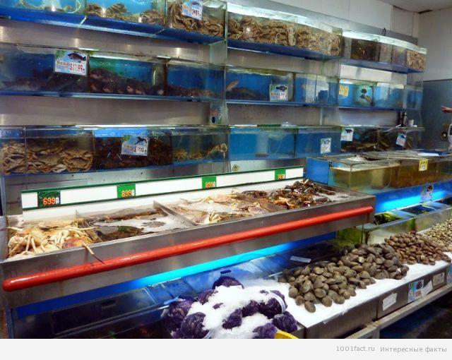 о морепродуктах
