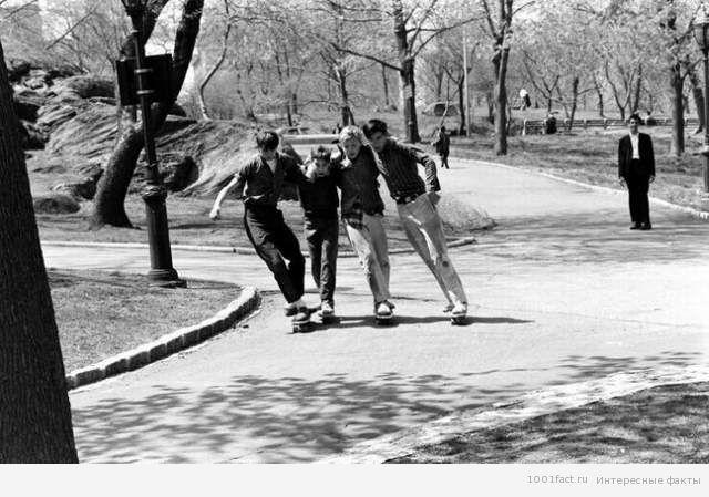 катание на скейте