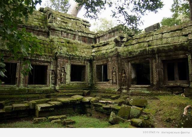 древний храм Та Прум