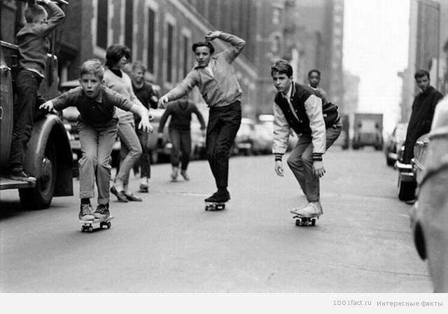 скейтбординг в 60-х
