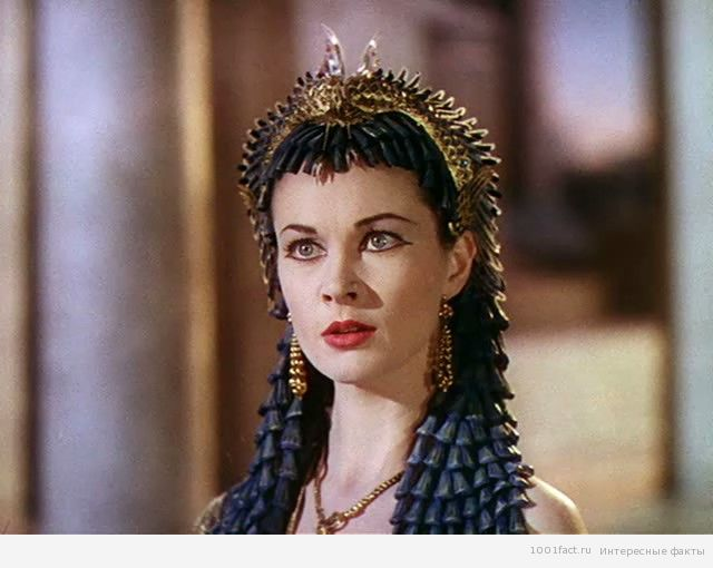 "кадр из фильма ""Цезарь и Клеопатра"""