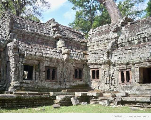 о храме в Камбодже