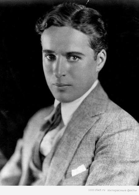 молодой Чарли Чаплин без грима