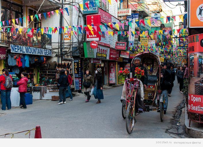 район Тамель_Непал