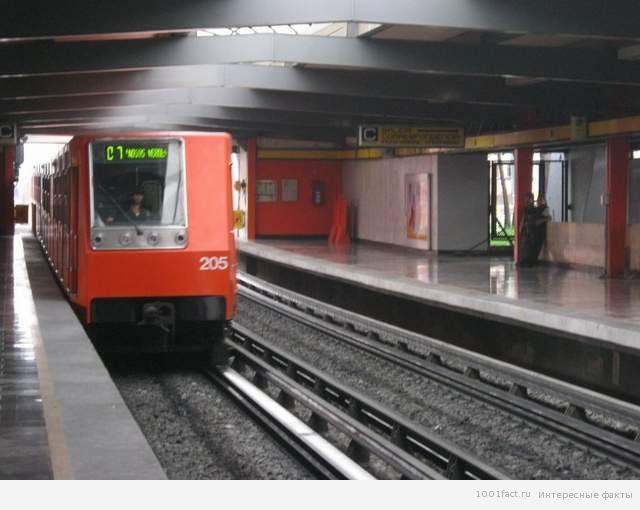 метро в Мексике