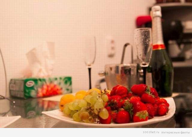 клубника и шампанское