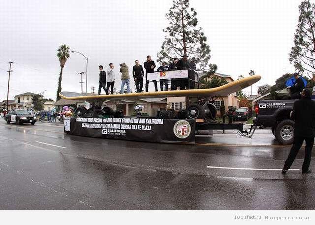 самый большой скейт