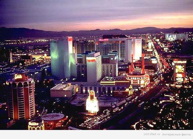 про город Лас-Вегас