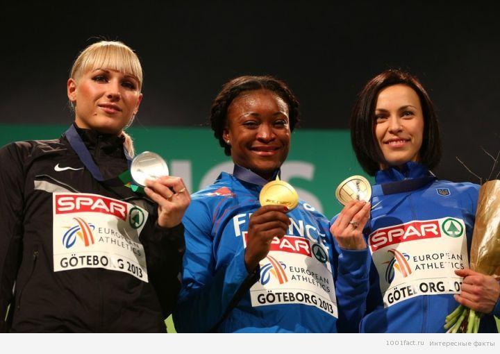 чемпионы по легкой атлетике