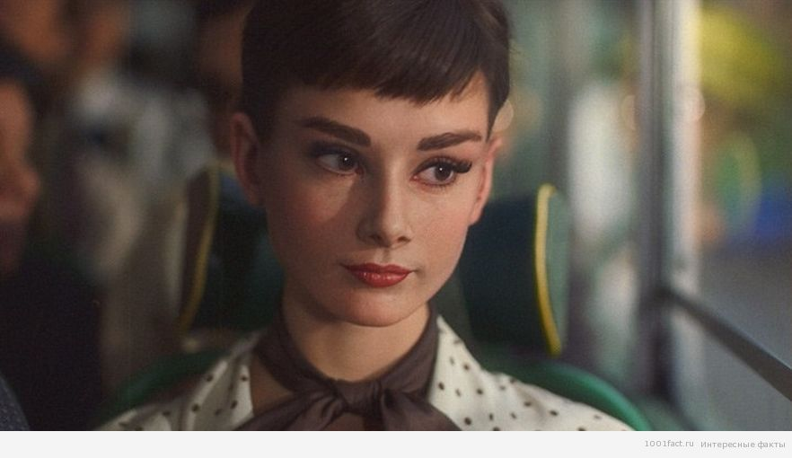 реклама Galaxy_Одри Хепберн