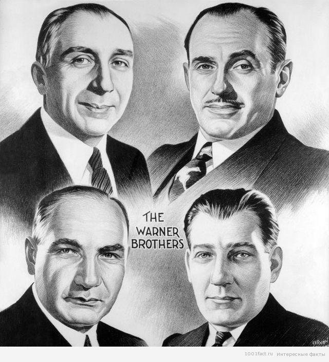 основатели Warner Bros.