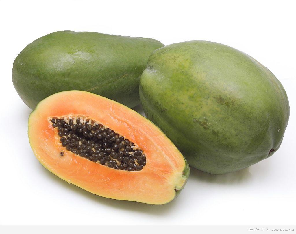 фрукты_папайя