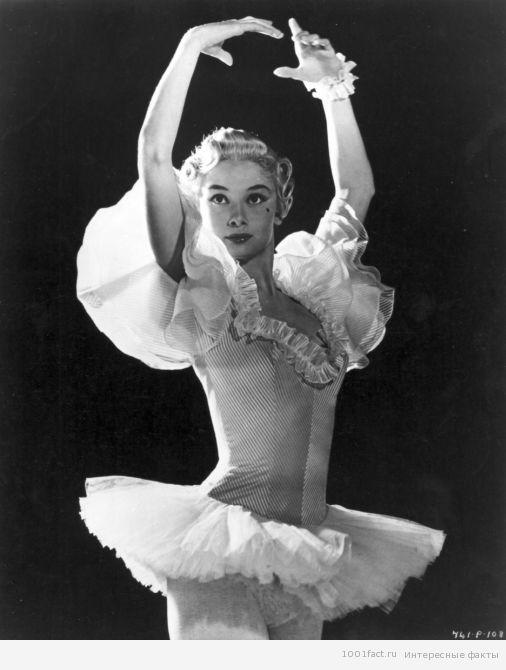 Одри Хепберн балерина