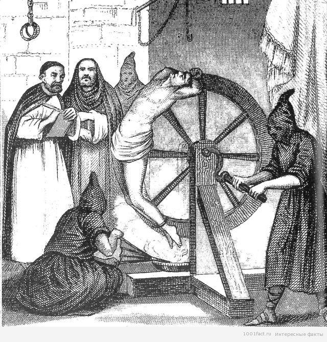 пыточное колесо_Средние века