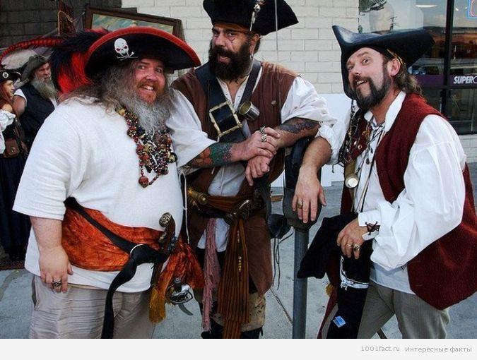празднование Дня пиратов