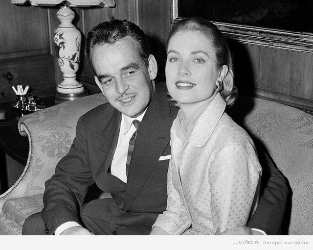князь Монако и Грейс Келли