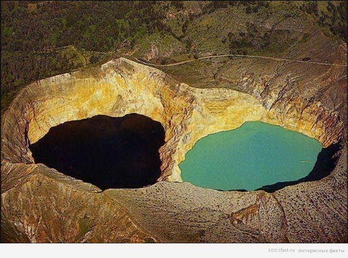 про цветные озера